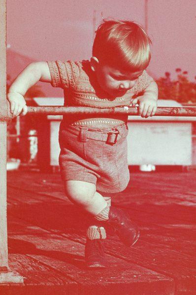 ca. 1950 Koni (erste Diapositive)