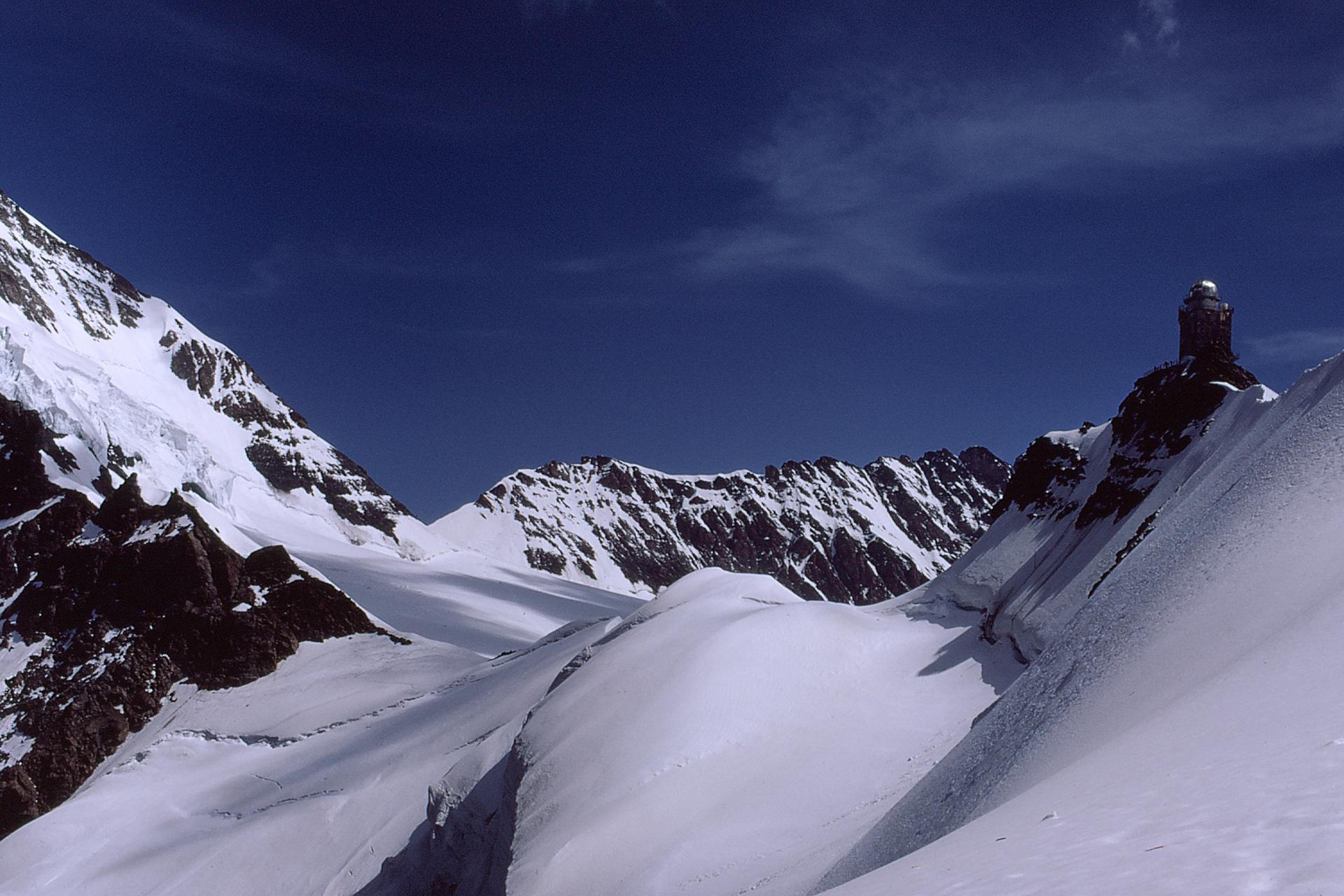 1972 Jungfraujoch, Sphinx (Diapositiv)